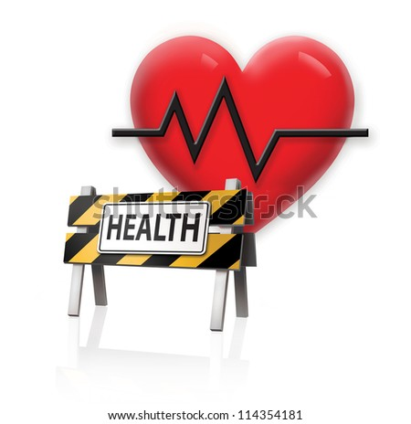 Health Barrier - stock photo