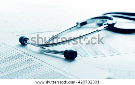 health care costs or medical insurance  - stock photo