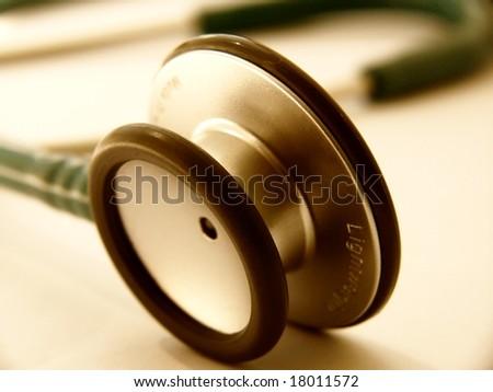 Health care - Stethoscope - stock photo