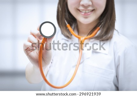 health check up concept with doctor  - stock photo