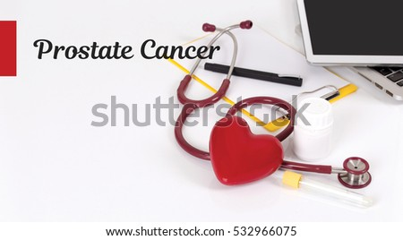 HEALTH CONCEPT: PROSTATE CANCER