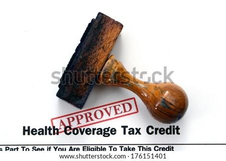 Health coverage - stock photo