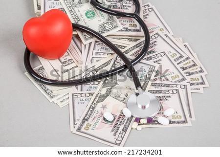 health expenses - stock photo