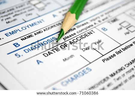 Health form - accident details