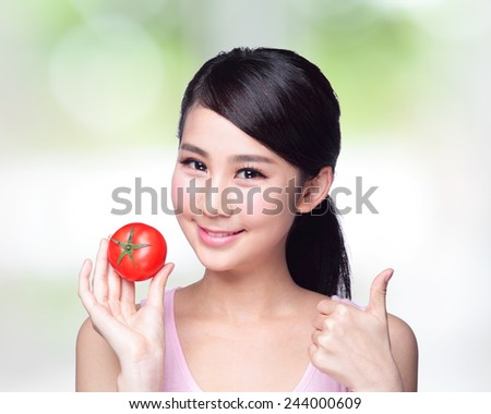 pictures of nude woman with food