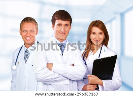 Health, group, business.