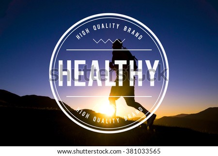Health Healthy Lifestyle Active Exercise Physical Concept - stock photo