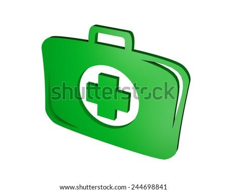 Health symbol - stock photo