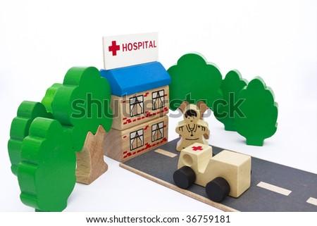 Health System - stock photo