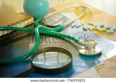Healthcare and Medical marketing concept