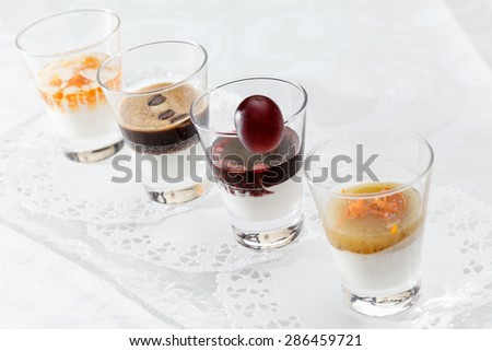 healthy dessert - stock photo