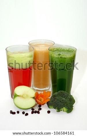 healthy drinks - stock photo
