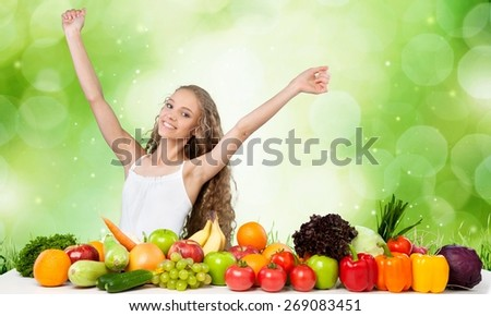 Healthy Eating, Healthy Lifestyle, Fruit. - stock photo