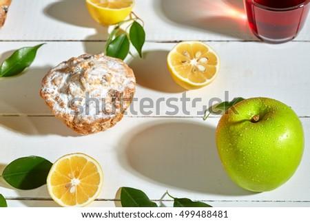 healthy breakfast fruit strange green fruit