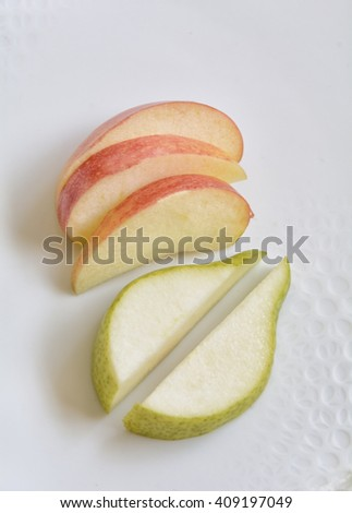 Healthy Food Fruit Apples and Pears