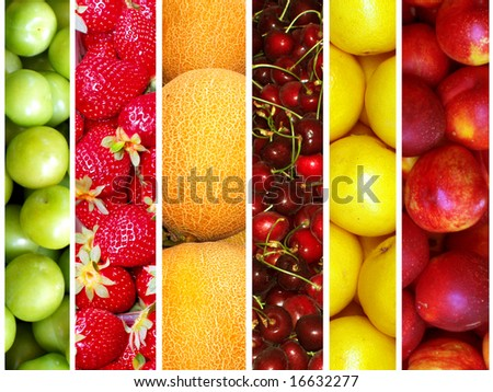 healthy fruit - stock photo