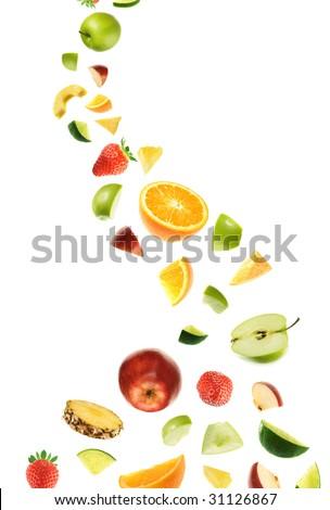 Healthy fruit boom! - stock photo
