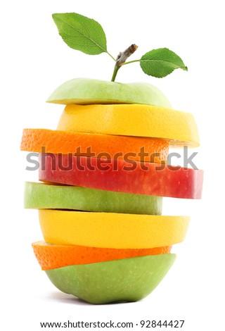 Healthy Fruit ripe - stock photo