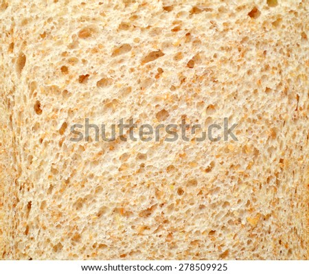 Healthy gluten free whole grain bread - stock photo