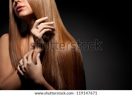 Healthy Hair - stock photo