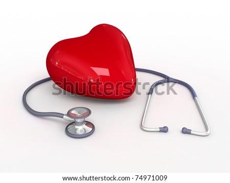 Healthy heart - stock photo