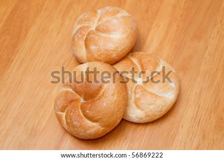 Healthy Irish Soda Bread on wood table. - stock photo