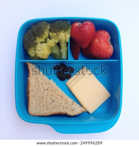 Healthy lunch - stock photo