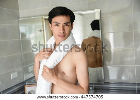 Healthy man lifestyle and grooming - stock photo