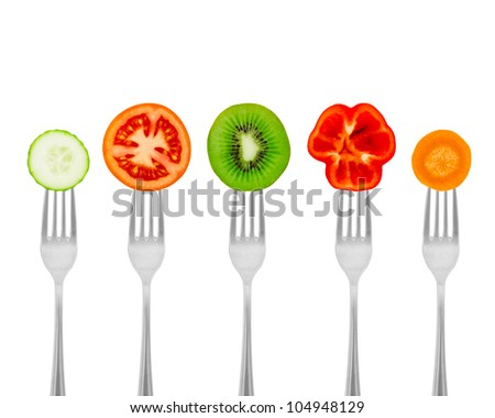 Healthy meal for weight dump. Diet concept organic food. - stock photo