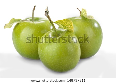 healthy organic apples