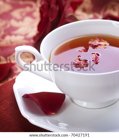 rose black rose delightful teas i had the rose petal tea natural tea ...