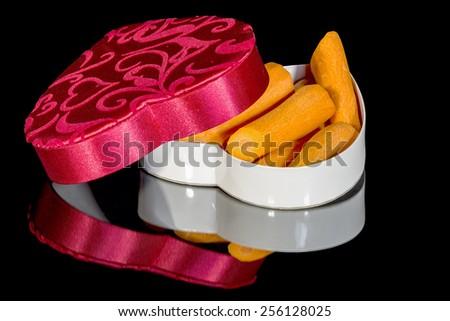 Healthy Valentine's day alternative - stock photo