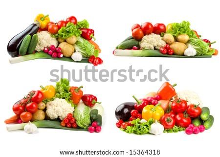 Healthy vegetable foods - stock photo