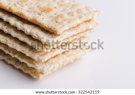 Healthy whole grain biscuits for a healthy snack. - stock photo
