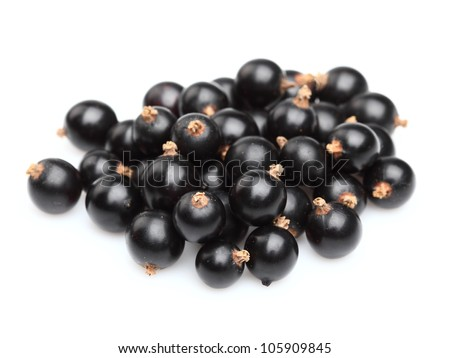 Heap of blackcurrant