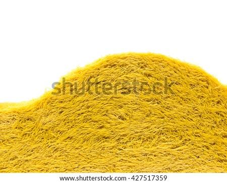 Heap of bowtie pasta - stock photo