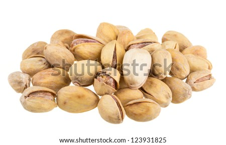 Heap of pistachio - stock photo
