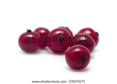 heap of red currant