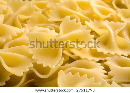 heap of row noodles - stock photo
