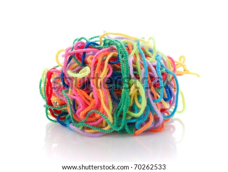 Heap of the bound color strings