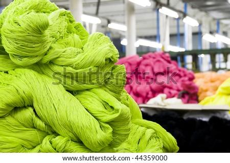 Heap of threads - stock photo
