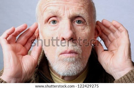 Hear No Evil - stock photo