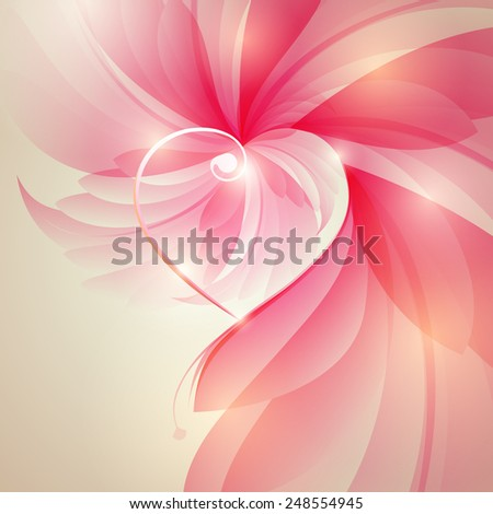 Heart. - stock photo