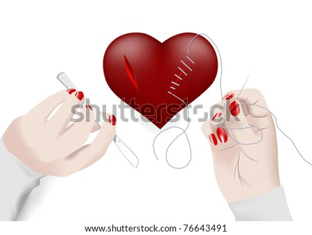 Heart - stock photo