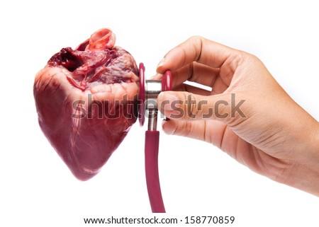 Heart Care - stock photo