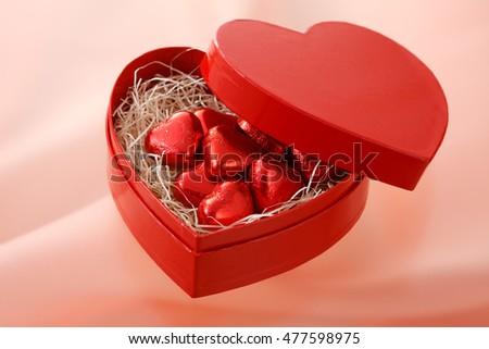 Sô cô la trái tim, Valentine