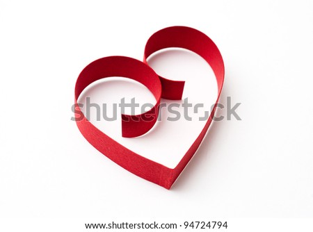 Heart for Valentine's Day - stock photo