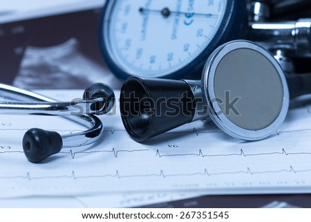 Heart Healthcare  - stock photo