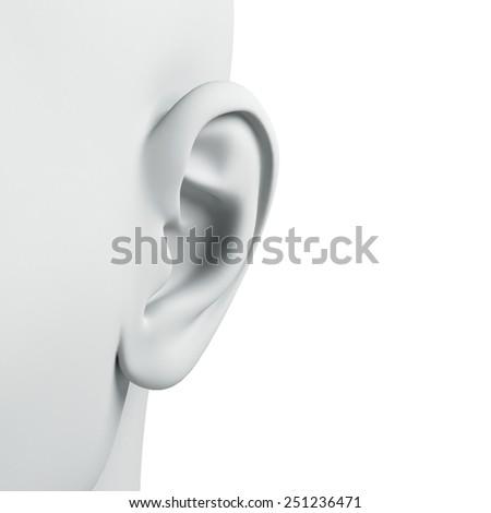 Heart  isolated on white background  - stock photo