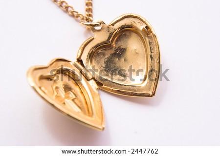 Heart Locket - stock photo